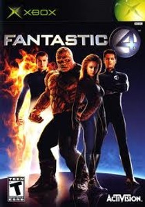 Fantastic 4 - Xbox Game