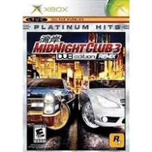 Midnight Club 3 Dub Edition Remix - Xbox Game