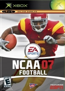 NCAA Football 07 - Xbox Game