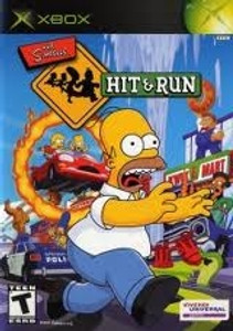 The Simpsons Hit And Run- Xbox Game