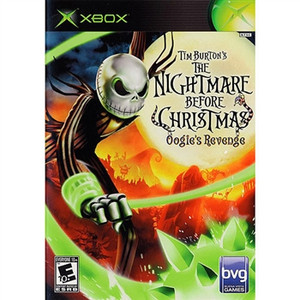 Nightmare Before Christmas Oogies Revenge  - Xbox Game