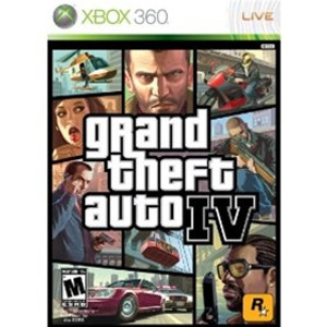 GTA IV - 360 GameGrand Theft Auto IV (GTA 4) - Xbox 360 Game
