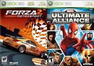 Marvel Ultimate Alliance + Forza 2 - Xbox 360 Game