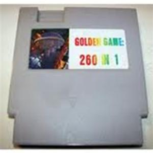 Golden Game 260 in 1 Cartridge - NES