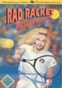 Rad Racket Deluxe Tennis II - NES Game