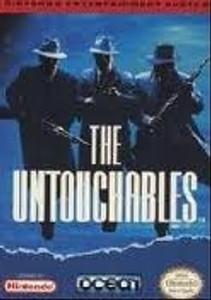 Untouchables, The (Blue Label) - NES Game