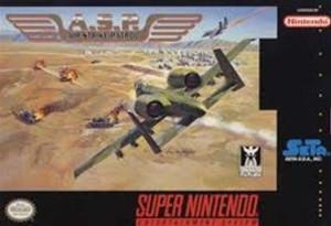 Air Strike Patrol - SNES Game