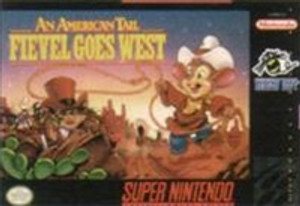 American Tail Fievel Goes West - SNES Game