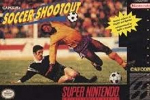 Capcom's Soccer Shootout - SNES Game