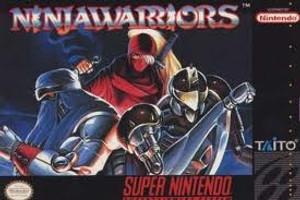 Ninja Warriors - SNES Game