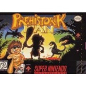 Prehistorik Man - SNES Game