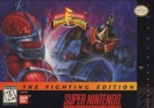 Power Rangers Fighting Edition - SNES Game