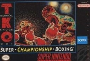 Super Championship Boxing - SNES Game