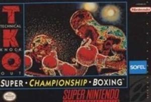 Super Championship Boxing - SNES Game