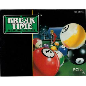Break Time - NES Manual