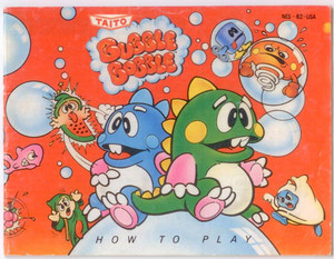 Bubble Bobble - NES Manual