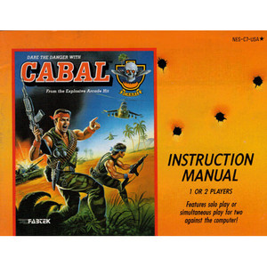 Cabal - NES Manual