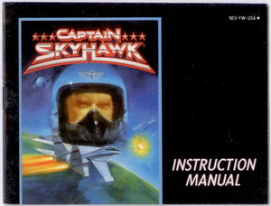 Captain Skyhawk - NES Manual
