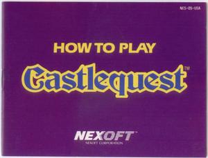 Castlequest - NES Manual