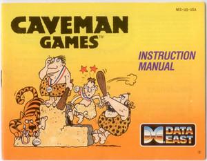 Caveman Games - NES Manual
