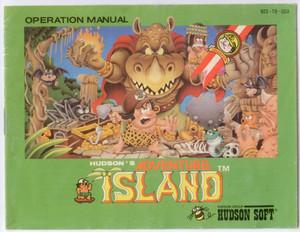 Adventure Island - NES Manual