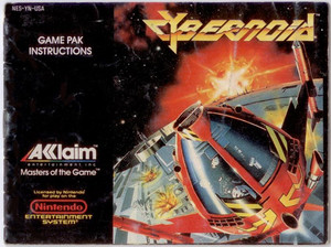 Cybernoid:The Fighting Machine - NES Manual