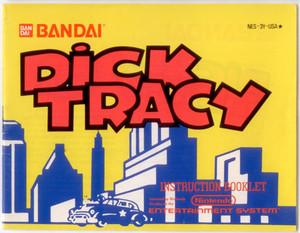 Dick Tracy - NES Manual