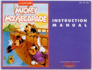Mickey Mousecapade, Disney's - NES Manual