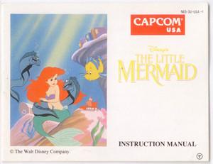 Little Mermaid, Disney's The - NES Manual