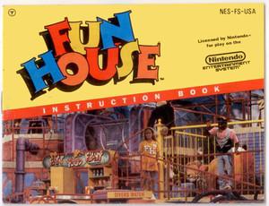 Fun House - NES Manual