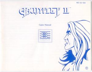 Gauntlet II(2) - NES Manual