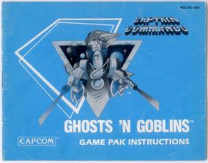 Ghosts 'N Goblins - NES Manual