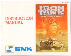 Iron Tank - NES Manual