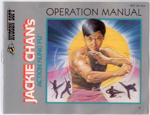 Jackie Chan's Action Kung Fu - NES Manual