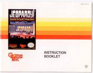 Jeopardy! - NES Manual