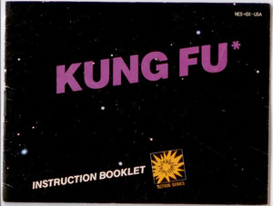 Kung Fu - NES Manual