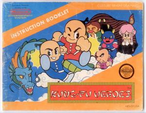 KungFu Heroes - NES Manual