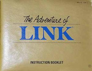 Adventure of Link, Legend of Zelda II - NES Manual