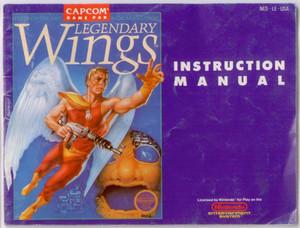 Legendary Wings - NES Manual