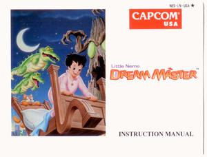 Little Nemo The Dream Master - NES Manual