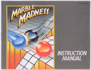 Marble Madness - NES Manual