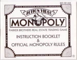 Monopoly - NES Manual