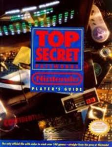 Nintendo Player's Guide: Top Secret Passwords NES, SNES & Gameboy