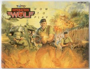 Operation Wolf - NES Manual