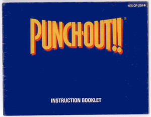 Punch-Out!! - NES Manual