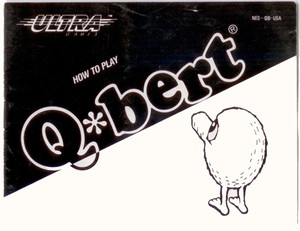 Q*bert - NES Manual