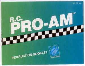 R.C. Pro-Am - NES Manual