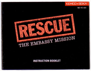 Rescue The Embassy Mission - NES Manual