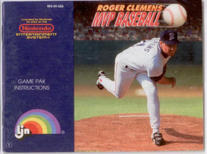 Roger Clemens MVP Baseball - NES Manual