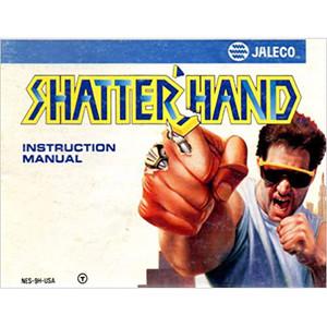 Shatterhand Manual For Nintendo NES
